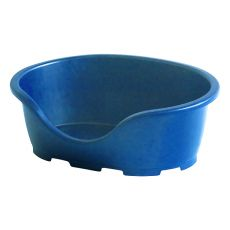 Lehátko pro psa PERLA 3, modré - 66 x 46 x 25 cm