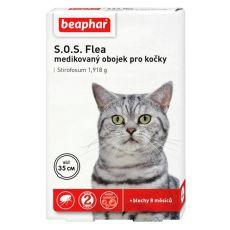 Obojek pro kočky proti blechám Beaphar 35 cm