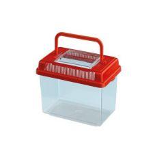 Plastová přepravka Ferplast GEO MEDIUM - červená, 2,5l