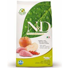 Farmina N&D cat GF ADULT Boar & Apple 0,3 kg