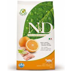 Farmina N&D cat GF ADULT Fish & Orange 1,5 kg