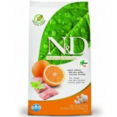 Farmina N&D dog GF ADLT MINI Fish & Orange 0,8 kg