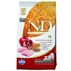 Farmina N&D dog LG PUPPY MEDIUM Chicken & Pomegranate 0,8kg
