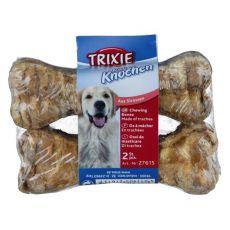 Žvýkací kost pro psy z hovězí průdušnice 2 x 10 cm