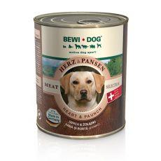 Konzerva BEWI DOG, srdce + žaludek, 800 g