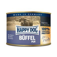 Happy Dog Pur - Büffel 200 g / buvolí maso
