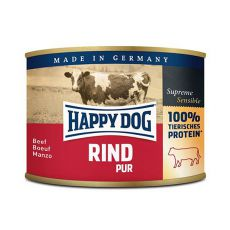 Happy Dog Pur - Rind 200 g / hovězí