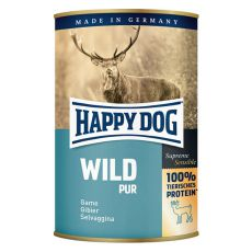 Happy Dog Pur - Wild 400 g / zvěřina