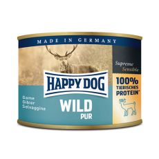Happy Dog Pur - Wild 200 g / zvěřina