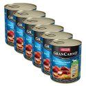 Konzerva GranCarno Fleisch Adult uzený úhoř + brambory - 6x800 g