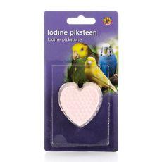 Minerální srdce s jodem pro ptáky - 50 g