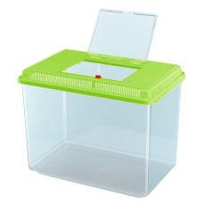 Plastová přepravka Ferplast GEO MAXI - zelená, 21 l