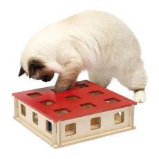 Hračka pro kočku MAGIC BOX, 27 x 27 x 8,5 cm