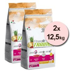 Trainer Fitness3 Junior MEDIUM MAXI - kachna s rýží 2x 12,5 kg