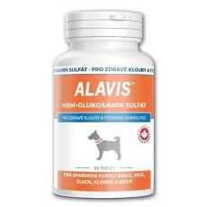 ALAVIS MSM Glukosamin sulfát - pro zdravé klouby a fyzickou kondici, 60 tablet