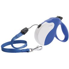 Vodítko Amigo Medium do 25 kg - 5m lanko, modro-bílé
