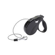 Vodítko Amigo Mini do 12 kg - 3m lanko, černé