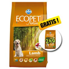Farmina MO P ECOPET N dog LAMB MINI 12 + 2 kg ZDARMA