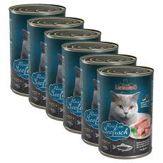 Konzerva pro kočky Leonardo - Ryba 6 x 400g
