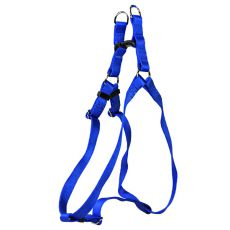Postroj pro psy, nylonový – modrý, 53 - 68 cm