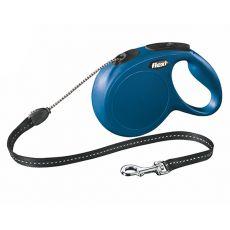 Flexi vodítko New Classic M do 20 kg, 8m lanko - modré