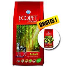 Farmina MO P ECOPET N dog ADULT MAXI 12 kg + 2 kg GRATIS