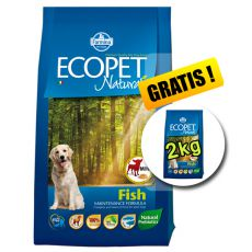 Farmina MO P ECOPET N dog FISH MINI 12 kg + 2 kg GRATIS
