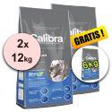 CALIBRA Premium Adult 2 x 12 kg + 6 kg