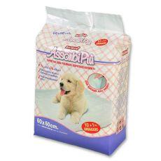 Hygienické podložky pro psy - 60 x 60 cm, 10+1 ZDARMA