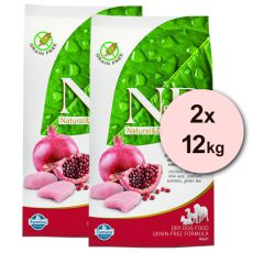 Farmina N&D dog GF ADULT MAXI Chicken & Pomegranate 2 x 12 kg