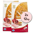 Farmina N&D dog LG ADULT MAXI Chicken & Pomegranate 2 x 12 kg