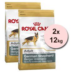ROYAL CANIN NĚMECKÝ OVČÁK 2 x 12 kg