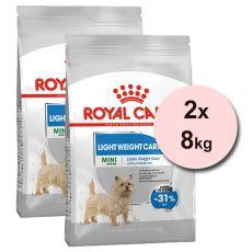 ROYAL CANIN MINI Light Weight Care 2 x 8 kg