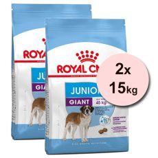 ROYAL CANIN GIANT JUNIOR 2 x 15 kg