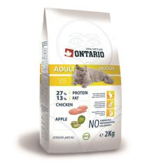Ontario Cat Adult Indoor 2 kg