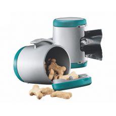 Flexi Vario Multi Box zásobník, tyrkysový + sáčky na odpad