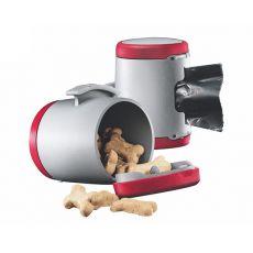 Flexi Vario Multi Box zásobník, červený + sáčky na odpad