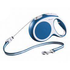 Flexi Vario M vodítko do 20 kg, 8m lanko - modré