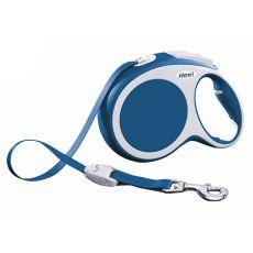 Flexi Vario L vodítko do 50 kg, 8m popruh - modré