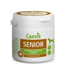 Canvit Senior - vitaminový přípravek proti stárnutí pro psy 100 tbl. / 100 g