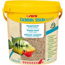 sera Cichlids Sticks Nature 10 l/2 kg