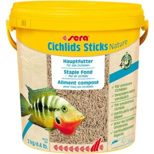 sera Cichlids Sticks 10l/2kg