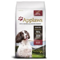 Applaws Dog Adult Small & Medium Breed Chicken & Lamb 7,5 kg
