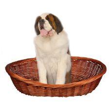 Proutěný pelech pro psa - 120 cm
