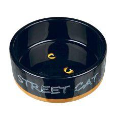 Keramická miska pro kočku Street Cat - 0,3 l
