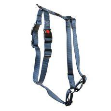 Postroj pro psy, nylonový - šedý, 62 - 86 cm