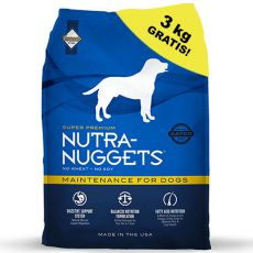 NUTRA NUGGETS Maintenance 15 kg + 3 kg ZDARMA