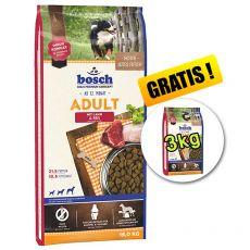 Bosch ADULT Lamb & Rice 15 kg + 3 kg ZDARMA