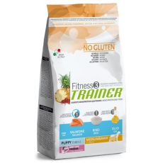 Trainer Fitnes3 Puppy & Junior MEDIUM MAXI - fish and rice 12,5 kg