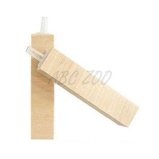 Vzduchovací kamínek - dřevěný, 75 x 15 x 15 mm
